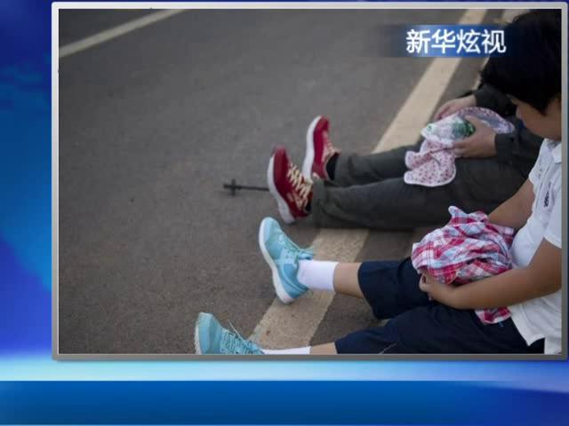 父母磨炼8岁女孩深圳徒步700公里回家