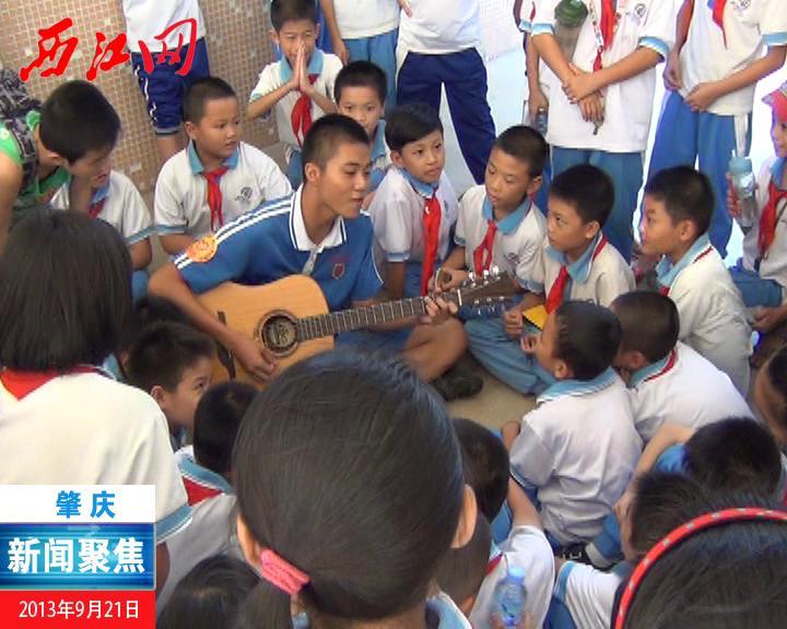 文化志愿者走进乡村学校少年宫