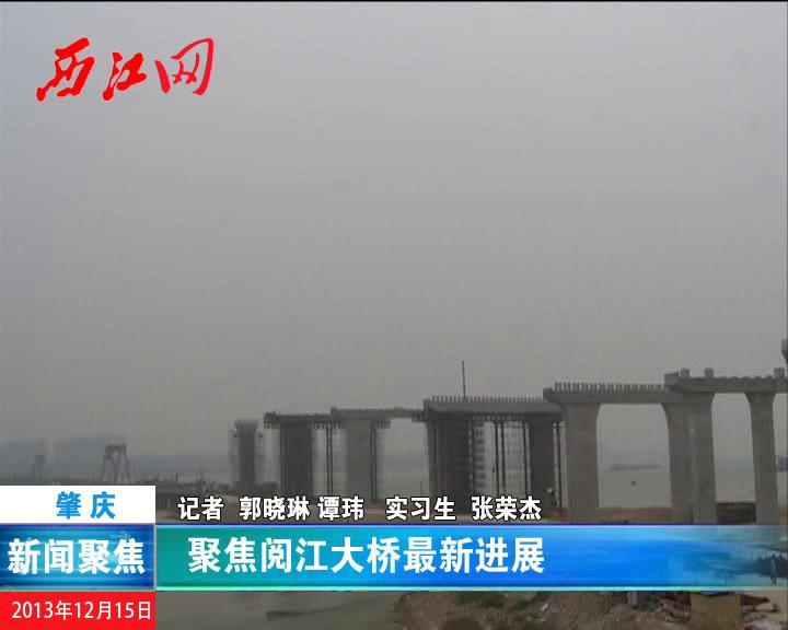 聚焦阅江大桥最新进展