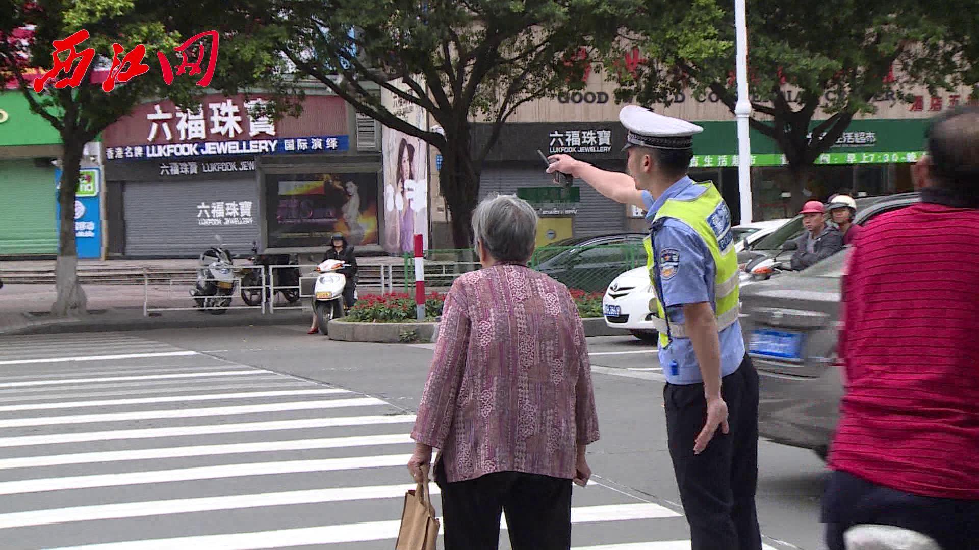 """为""""创文""""整治道路交通秩序 近600名警员布点执勤"""