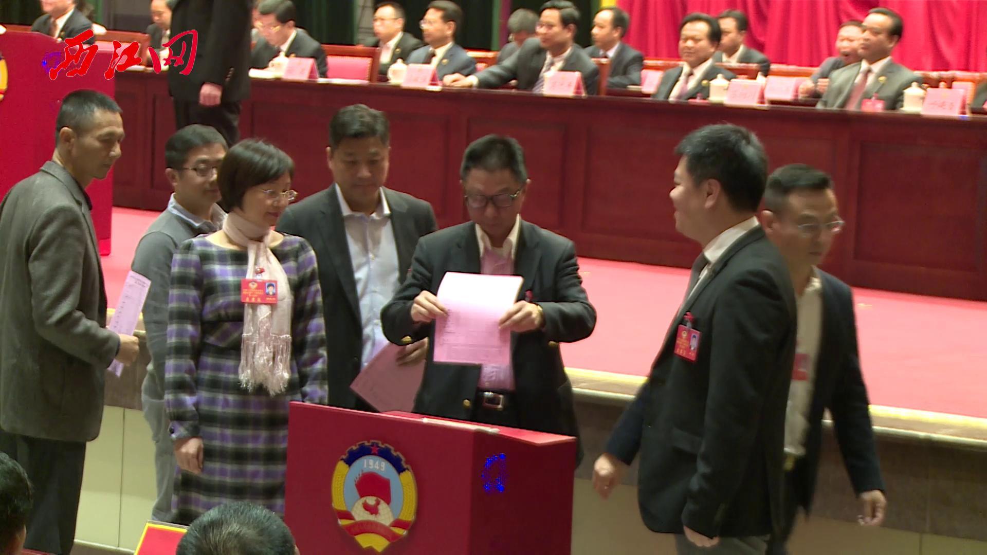 市政协十一届一次会议举行选举大会