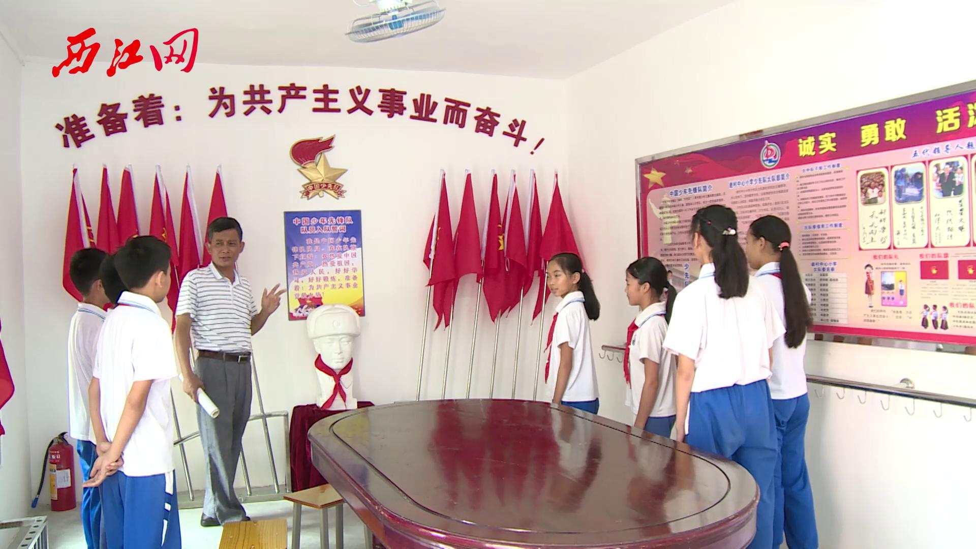 """市教育局到迪村中心小学开展""""市文明校园""""验收工作"""