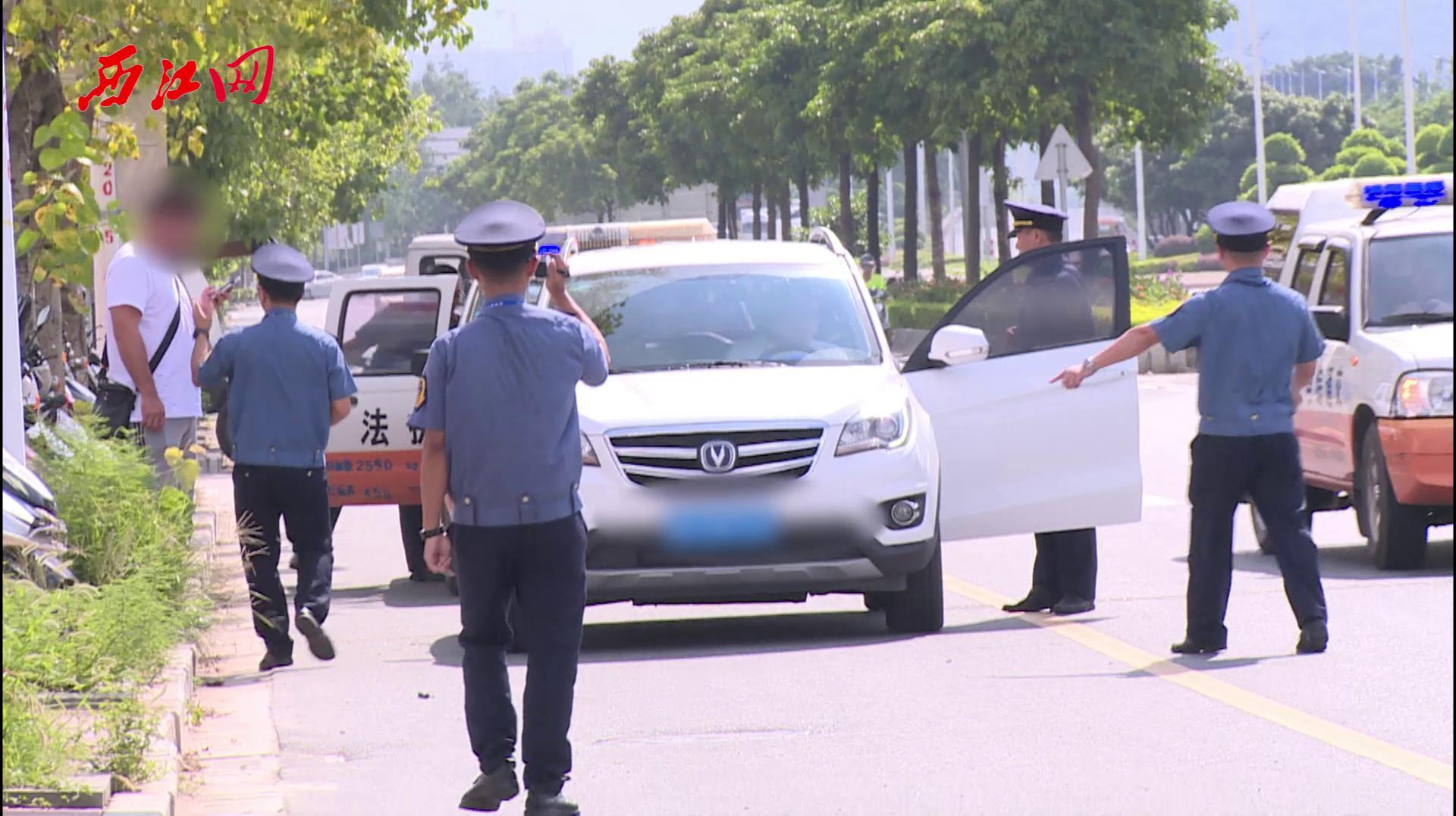 肇庆市交通运输局开展网约车专项整治行动