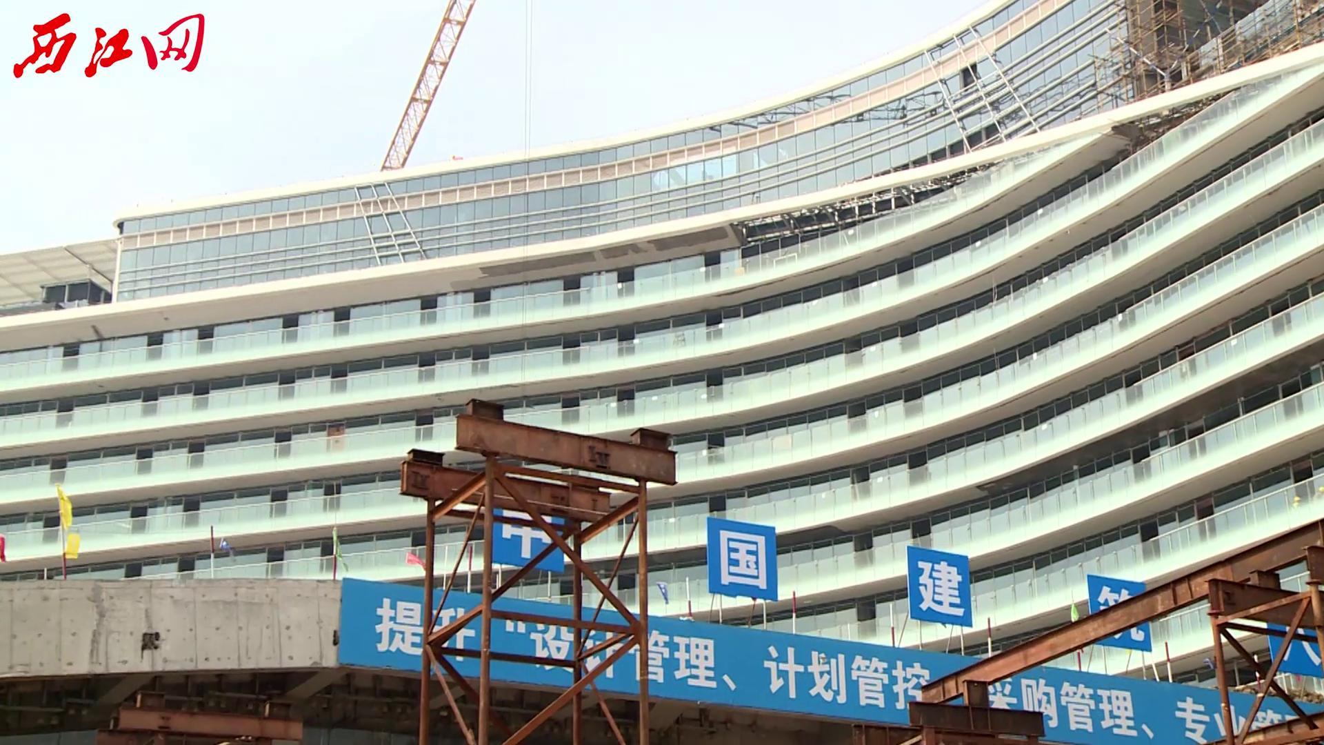 肇庆新区湿地景观酒店建设进入收尾阶段