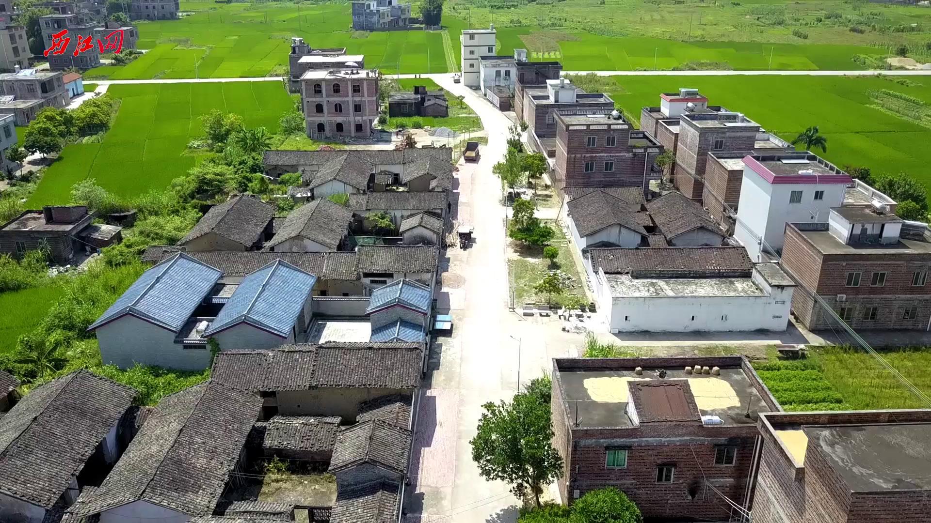 怀集县新农村改造航拍视频