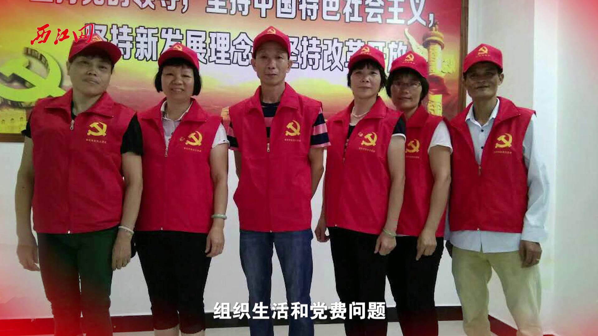 党建引领聚人心 真情关怀写大爱  记鼎湖广利个体劳协党支部
