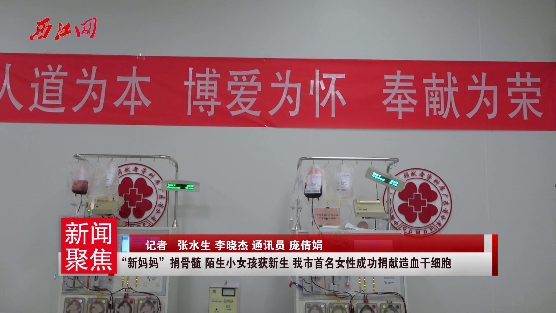 """""""新妈妈""""捐骨髓 陌生小女孩获新生 我市首名女性成功捐献造血干细胞"""