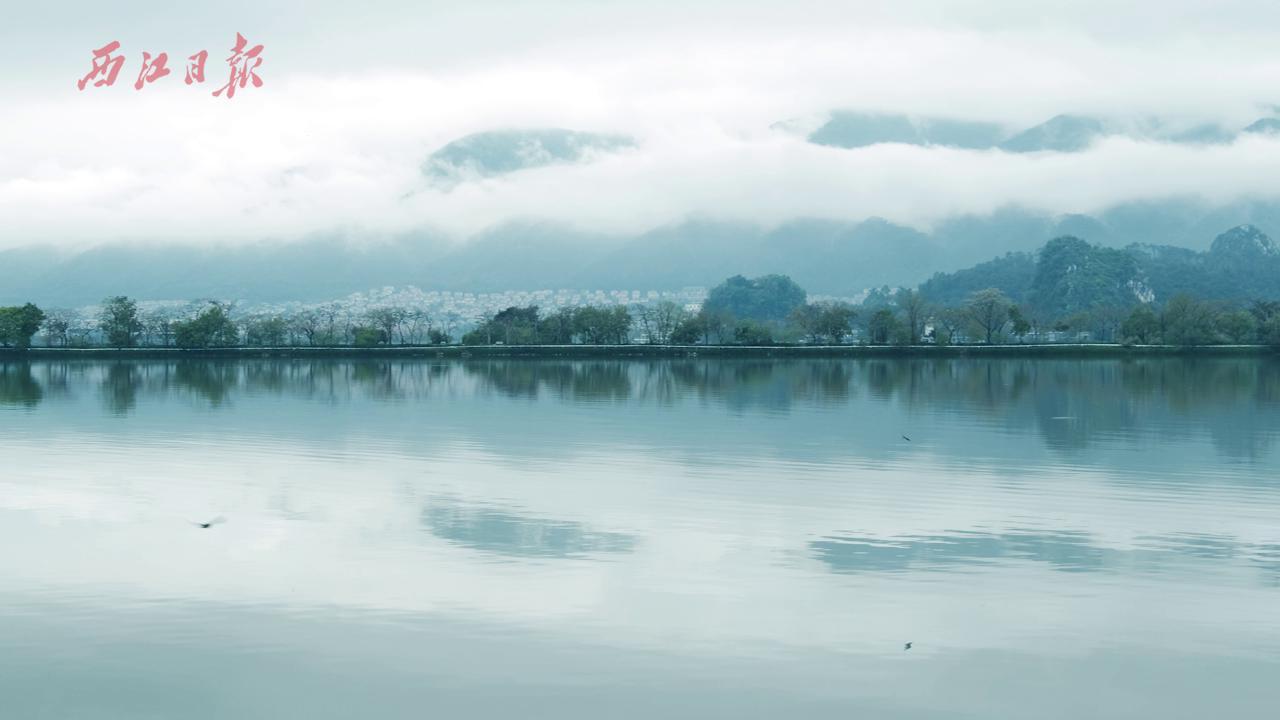 肇庆之春:远观七星岩、北岭山云海飘渺!