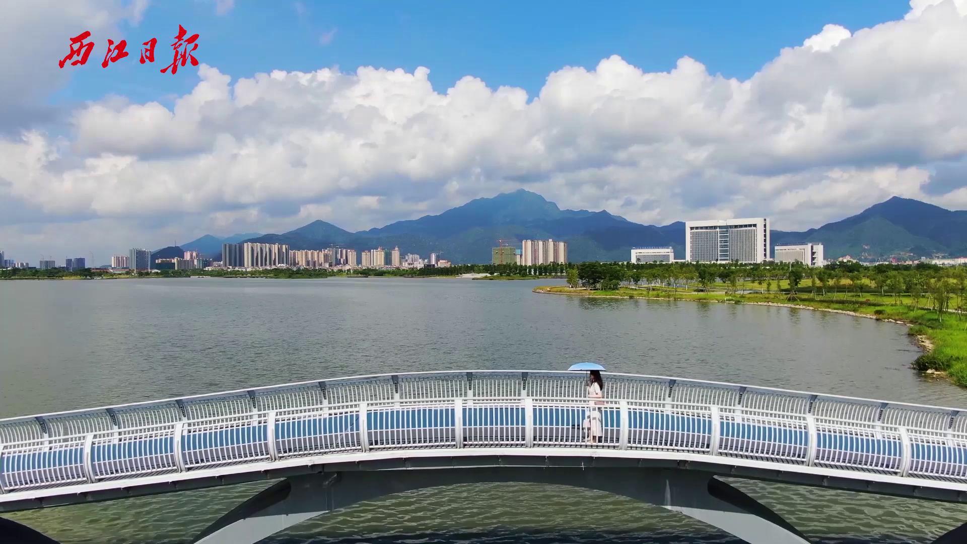 打卡網紅地——肇慶新區硯陽湖