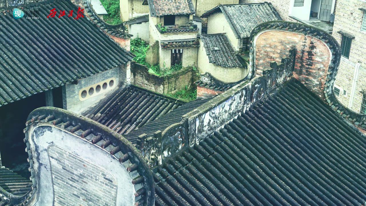 家乡记忆:高要乐城镇大迳河畔的锅耳屋